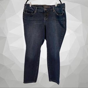 TORRID 22R Premium Denim Skinny Jeans